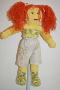 Süße knuddelige Puppe